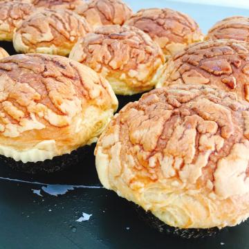 丹麥奶酥菠蘿麵包-台中梧棲麵包店推薦