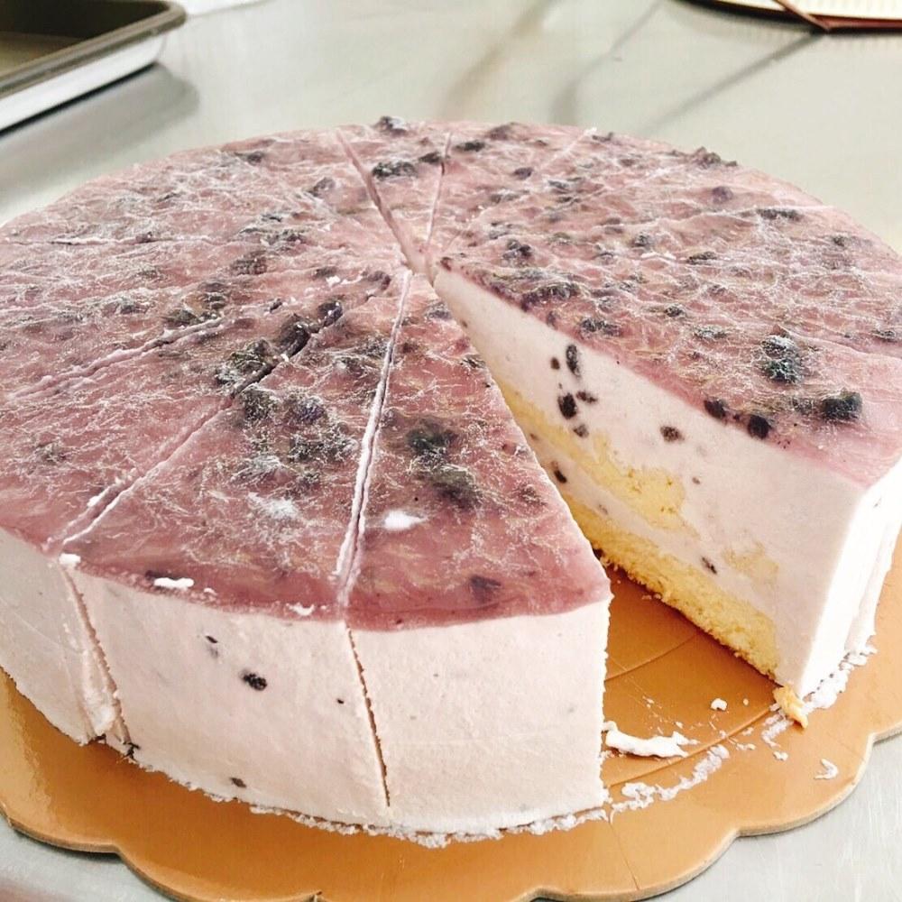 藍莓慕斯蛋糕-台中梧棲蛋糕店推薦